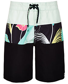 Billabong Big Boys Floral-Print Board Shorts