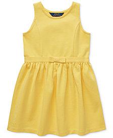 Polo Ralph Lauren Toddler Girls Ponté-Knit Dress