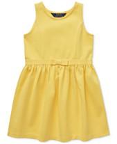 Polo Ralph Lauren Toddler Girls Ponté-Knit Dress c9c7be4c9