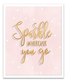 Sparkle Wherever You Go Shadowbox