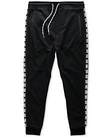 Men's Logo Side-Stripe French Terry Joggers