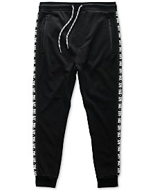 H4X Men's Logo Side-Stripe French Terry Joggers