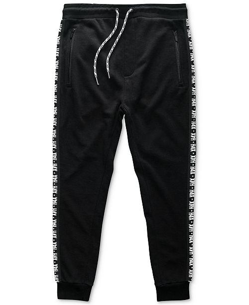 ec8dc5243 H4X Men's Logo Side-Stripe French Terry Joggers & Reviews - Pants ...
