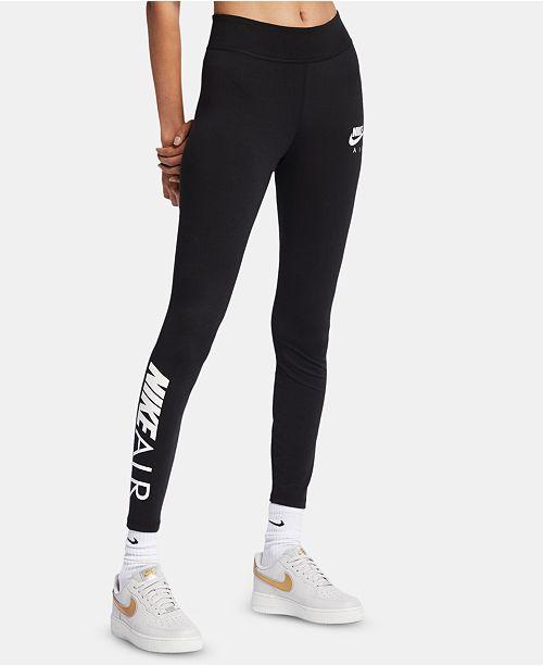 3eacdcfac5d60 Nike Air Logo High-Waist Leggings & Reviews - Pants & Capris - Women ...