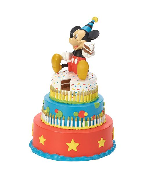 Remarkable Precious Moments Disney Showcase Mickey Mouse Birthday Cake Led Funny Birthday Cards Online Elaedamsfinfo