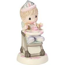 Baby Girl's First Birthday Figurine