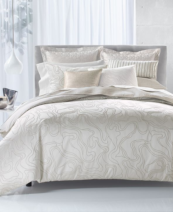 Hotel Collection Silverwood Duvet Covers, Created for Macy's