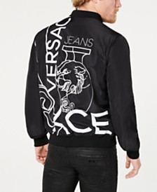 Versace Men's Logo Bomber Jacket
