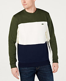 Lacoste Men's Colorblocked Sweatshirt