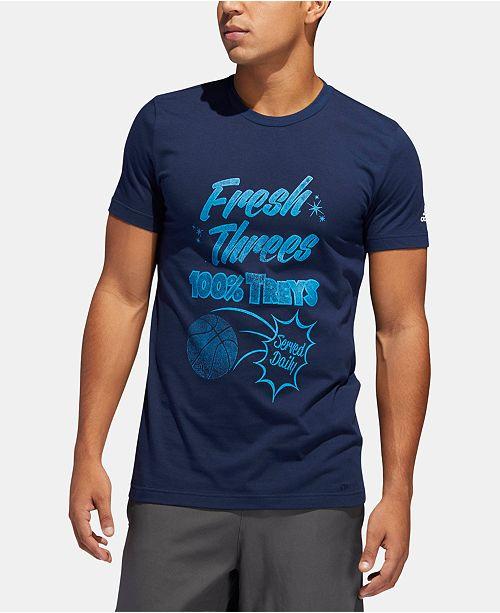 adidas Men's ClimaLite® Graphic Basketball T-Shirt