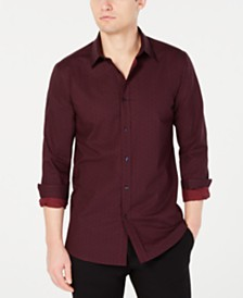 HUGO Men's Extra-Slim Fit Solid Shirt