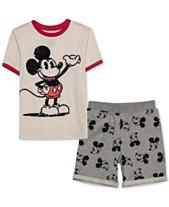 46577a504 Disney Little Boys Mickey Mouse T-Shirt & Shorts Set