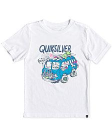 Quiksilver Little Boys Wolf Riding Logo T-Shirt
