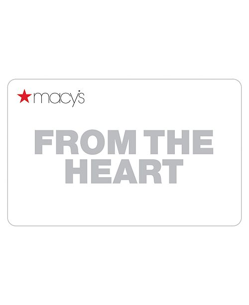 Macy's Secret Admirer Card with Letter