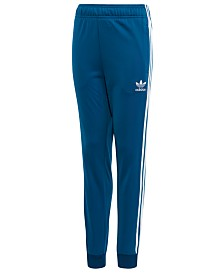 adidas Big Boys Original Superstar Pants