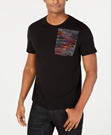 Just Cavalli Men's Rhinestone T-Shirt