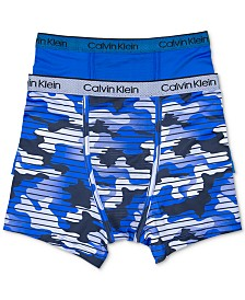Calvin Klein Little & Big Boys 2-Pk. Boxer Briefs
