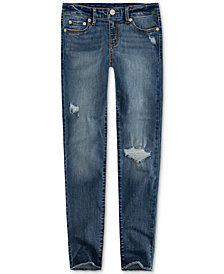 Levi's® Little Girls 710 Super Skinny Distressed Jeans