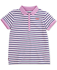 Levi's® Big Girls Cotton Polo Shirt