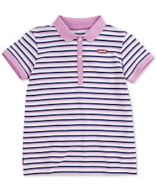 Levi's® Big Girls Cotton Polo Shirt