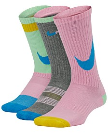 Nike Little & Big Boys 3-Pk. Crew Socks