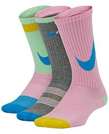 Nike Little & Big Boys 3-Pk. Crew Socks
