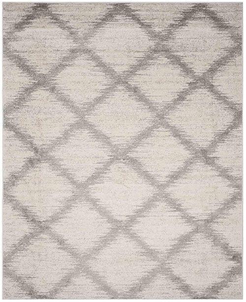 Safavieh Adirondack Ivory and Silver 8' x 10' Area Rug