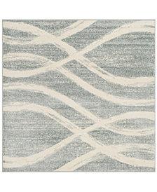 Safavieh Adirondack Cream and Slate 6' x 6' Square Area Rug