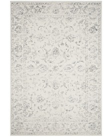 "Safavieh Carnegie Cream and Gray 6'7"" x 9'2"" Area Rug"