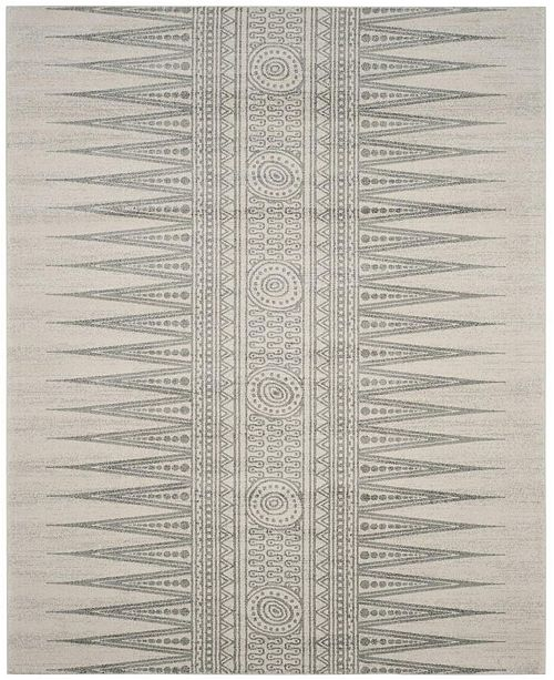 Safavieh Evoke Ivory and Silver 8' x 10' Area Rug
