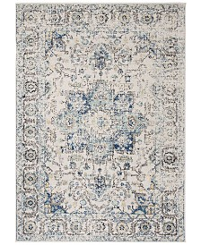 "Safavieh Madison Turquoise and Ivory 5'1"" x 7'6"" Area Rug"