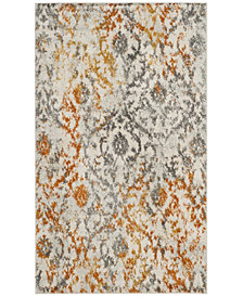 Safavieh Madison Cream and Orange 3' x 5' Area Rug