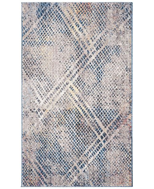 Safavieh Monray Blue and Multi 3' x 5' Area Rug