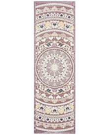 "Safavieh Paradise Purple and Cream 2'3"" x 7' Area Rug"