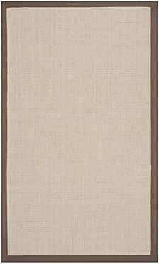 "Safavieh Natural Fiber Taupe and Light Brown 2'6"" x 8' Sisal Weave Area Rug"