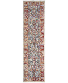 Safavieh Provance Red and Black 2' x 8' Area Rug