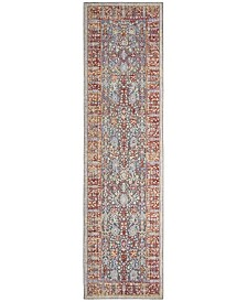 Safavieh Provance Red and Black 2' x 8' Runner Area Rug