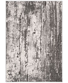 "Safavieh Spirit Gray and Dark Gray 5'3"" x 7'6"" Area Rug"