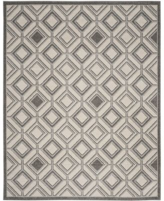 Amherst Ivory and Light Gray 7' x 7' Round Area Rug