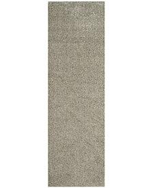 "Safavieh Arizona Shag Silver 2'3"" x 8' Area Rug"