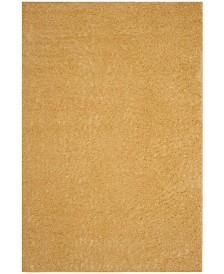 "Safavieh Arizona Shag Gold 5'1"" x 7'6"" Sisal Weave Area Rug"