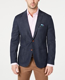 Tallia Men's Slim-Fit Stretch Denim Sport Coat