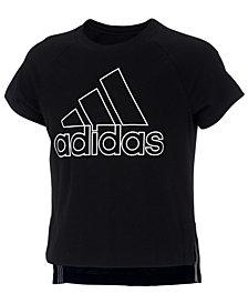 adidas Little Girls Winners Graphic T-Shirt