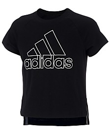 adidas Little Girls Winners Graphic T-Shirt