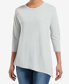 Asymmetrical Crewneck Tunic