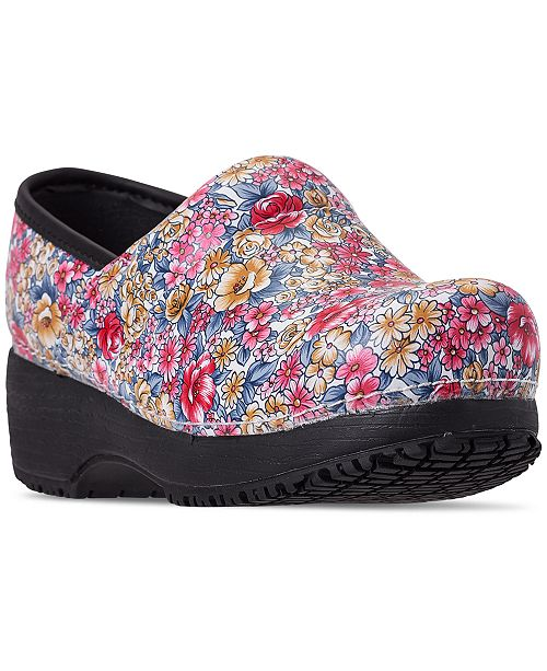bf2a1939e04 ... Skechers Women's Work: Clog SR Slip-Resistant Work Shoes from Finish ...