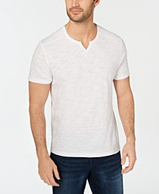 INC Men's Ribbed Split Tee