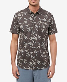 Jack O'Neill Men's Bamboo Short Sleeve Woven Shirt
