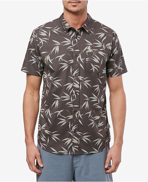 O'Neill Men's Bamboo Short Sleeve Woven Shirt