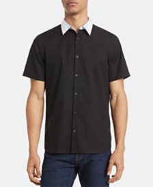 Calvin Klein Men's Classic-Fit Colorblocked Shirt